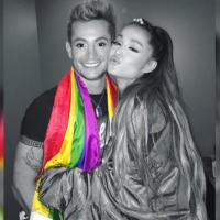 #EEUU| Cantante Ariana Grande y su hermano gay