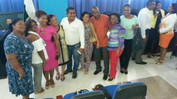 Ecuador Lideres Afros LGBT participan en conferencia diario el diverso (2)