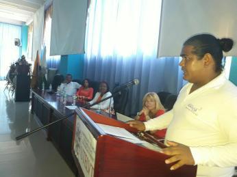 Ecuador Lideres Afros LGBT participan en conferencia diario el diverso (4)