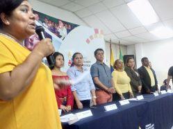 Ecuador ONG comunitaria participa en evento de conformación de la Red Zonal Contra la Violencia a la Niñez y Adolescencia diario el diverso (7)