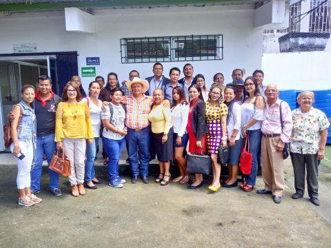 Ecuador ONG comunitaria participa en evento de conformación de la Red Zonal Contra la Violencia a la Niñez y Adolescencia diario el diverso (8)