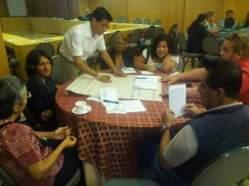 Ecuador ONGs que trabajan en VIH, participaron activamente en el taller de Dialogo País diario el diverso (4)