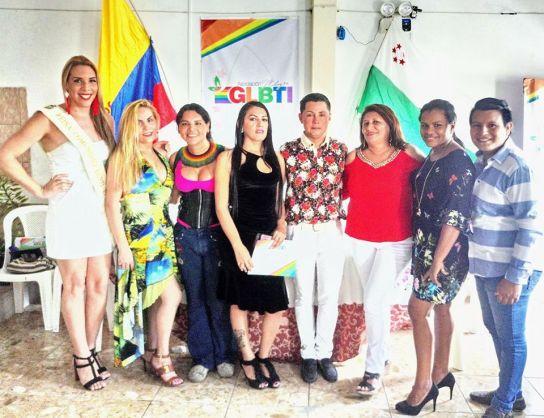 colectivo glbti de milagro realiza ceremonia de reconocimiento diario el diverso ecuador
