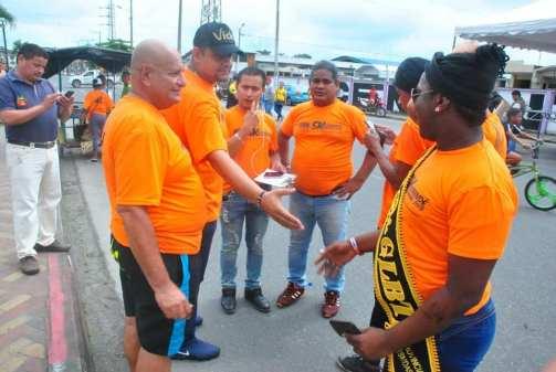 #Ecuador Colectivos LGBT afros, participan de maratón diario el diverso ecuador