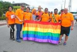 #Ecuador Colectivos LGBT afros, participan de maratón diario el diverso ecuador1