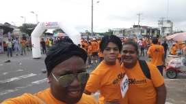 #Ecuador Colectivos LGBT afros, participan de maratón diario el diverso ecuador5