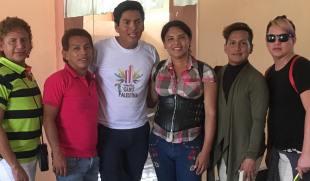 #Ecuador LGBT de cantones rurales realizan desfile por segunda vez diario el diverso (1)