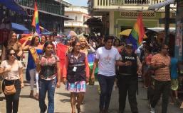 #Ecuador LGBT de cantones rurales realizan desfile por segunda vez diario el diverso (14)