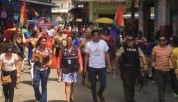 #Ecuador LGBT de cantones rurales realizan desfile por segunda vez diario el diverso (15)