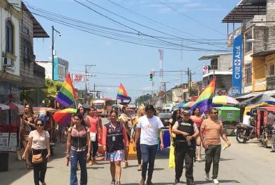 #Ecuador LGBT de cantones rurales realizan desfile por segunda vez diario el diverso (17)