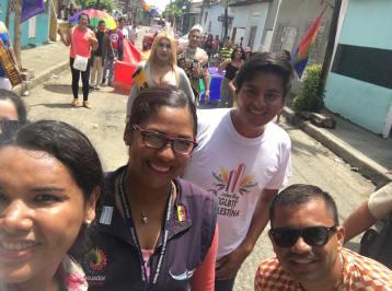 #Ecuador LGBT de cantones rurales realizan desfile por segunda vez diario el diverso (18)