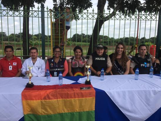#Ecuador LGBT de cantones rurales realizan desfile por segunda vez diario el diverso (7)