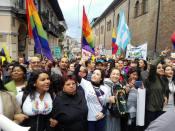 #Ecuador LGBT protestan contra el gobierno de Lenín Moreno en marcha masiva diario el diverso ecuador10