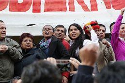 #Ecuador LGBT protestan contra el gobierno de Lenín Moreno en marcha masiva diario el diverso ecuador15