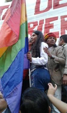 #Ecuador LGBT protestan contra el gobierno de Lenín Moreno en marcha masiva diario el diverso ecuador17