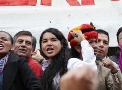 #Ecuador LGBT protestan contra el gobierno de Lenín Moreno en marcha masiva diario el diverso ecuador19