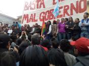 #Ecuador LGBT protestan contra el gobierno de Lenín Moreno en marcha masiva diario el diverso ecuador9