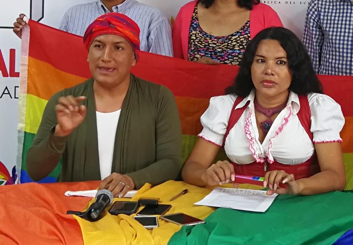#Ecuador| Inician judialización de la protesta LGBT, contra lideresa trans