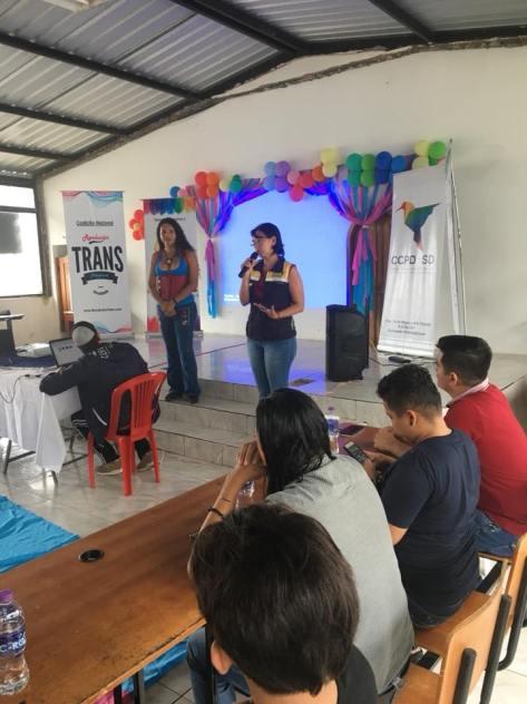 #Ecuador La Coalición Nacional Trans se reunió por primera vez por sus derechos Diario El Diverso Ecuador24