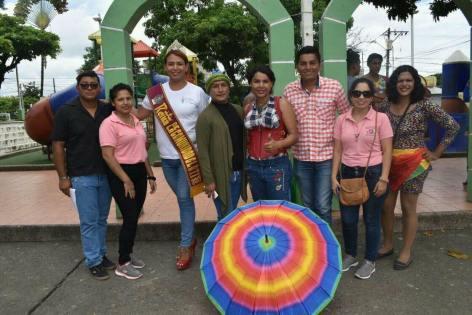 Federados de Balzar inician empoderamiento federacion lgbti Ecuador-Diane Rodriguez activista