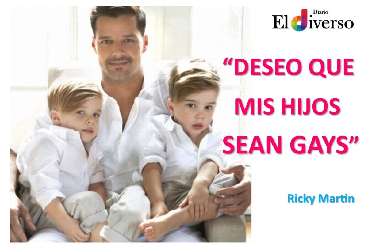 #EEUU| El Cantante afirmó que le gustaría que sus hijos sean Gays!
