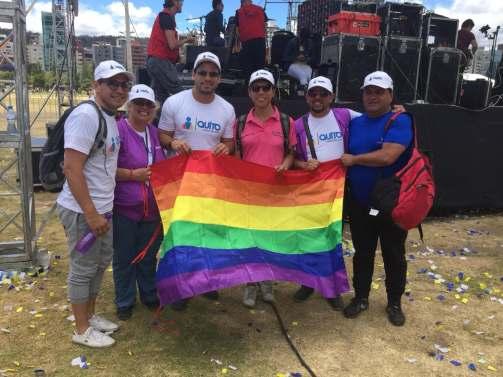 #Ecuador Fiesta por la inclusión en Parque La Carolina de Quito-Diario El Diverso Ecuador