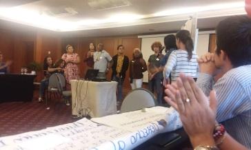 #Ecuador La Asociación Silueta X trabaja en taller de VIH con UNFPA-Diario El Diverso Ecuador 1