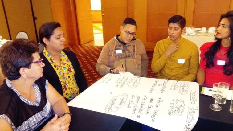 #Ecuador La Asociación Silueta X trabaja en taller de VIH con UNFPA-Diario El Diverso Ecuador