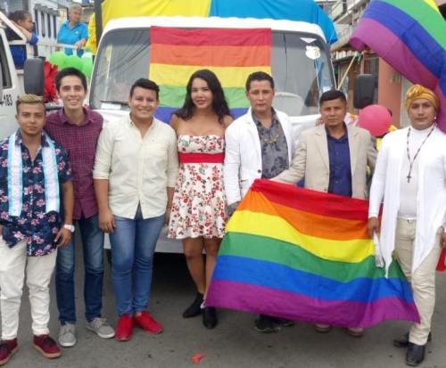 #Ecuador LGBT participaron de los 105 año de la Ciudad de Milagro-Diario El Diverso Ecuador 1