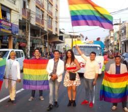 #Ecuador LGBT participaron de los 105 año de la Ciudad de Milagro-Diario El Diverso Ecuador 2