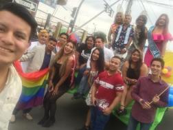 #Ecuador LGBT participaron de los 105 año de la Ciudad de Milagro-Diario El Diverso Ecuador 3