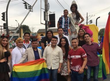#Ecuador LGBT participaron de los 105 año de la Ciudad de Milagro-Diario El Diverso Ecuador 4
