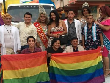 #Ecuador LGBT participaron de los 105 año de la Ciudad de Milagro-Diario El Diverso Ecuador 5