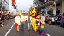 #Ecuador LGBT participaron de los 105 año de la Ciudad de Milagro-Diario El Diverso Ecuador 6