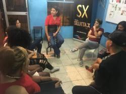 #Ecuador Silueta X imparte taller para reaccionar ante el abuso de poder en parejas-Diario El Diverso Ecuador 5