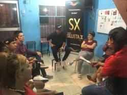 #Ecuador Silueta X imparte taller para reaccionar ante el abuso de poder en parejas-Diario El Diverso Ecuador