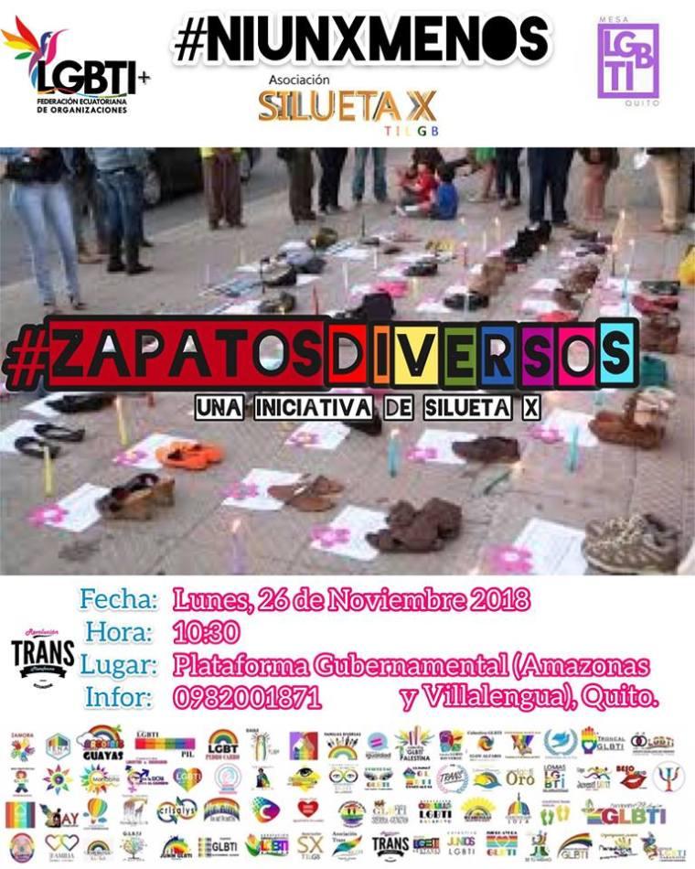 21 años de la despenalizacion de la homosexualidad- Asociacion silueta x- Federacion ecuatoriana de organizaciones lgbt- Plataforma Revolucion Trans.jpg QUITO.jpg