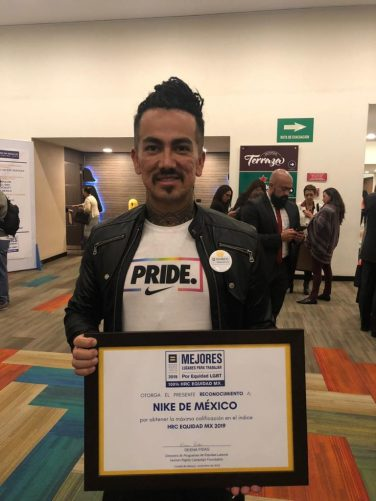 Representante-de-Nike-México-Homosensual-diario el diverso