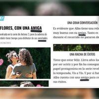 #España| No, no es su amiga. Alba Flores y su novia