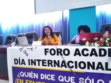 Diane Rodríguez, sobre transfeminismo en foro académico por el día internacional de la mujer en Ecuador