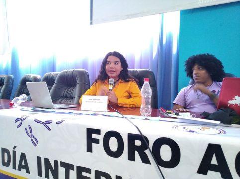 Diane Rodríguez, sobre transfeminismo en foro académico por el día internacional de la mujer feminismos negros