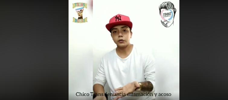 Chico trans masculino de Ecuador denuncia difamación y acoso de Odalys Bustamante Cayambe