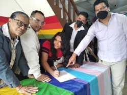 Firma - ACCIÓN DE PROTECCIÓN CONTRA EL CONSEJO PARA LA IGUALDAD DE GÉNERO PARA LA CONFORMACIÓN DEL CONSEJO CONSULTIVO LGBTI - Asociación Silueta X - Campaña Tiempo de Igualdad Diane Rodríguez
