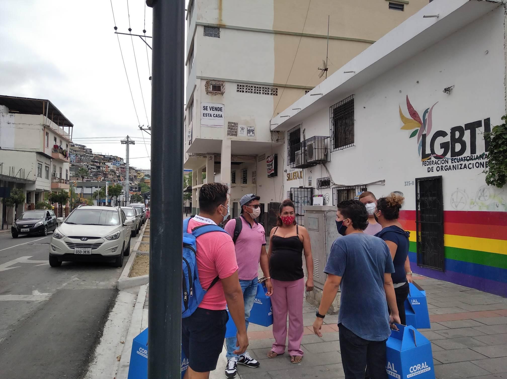 Inauguración del Primer Comedor Comunitario Trans en Guayaquil - Ecuador iniciativa de la Asociación Silueta X (22)