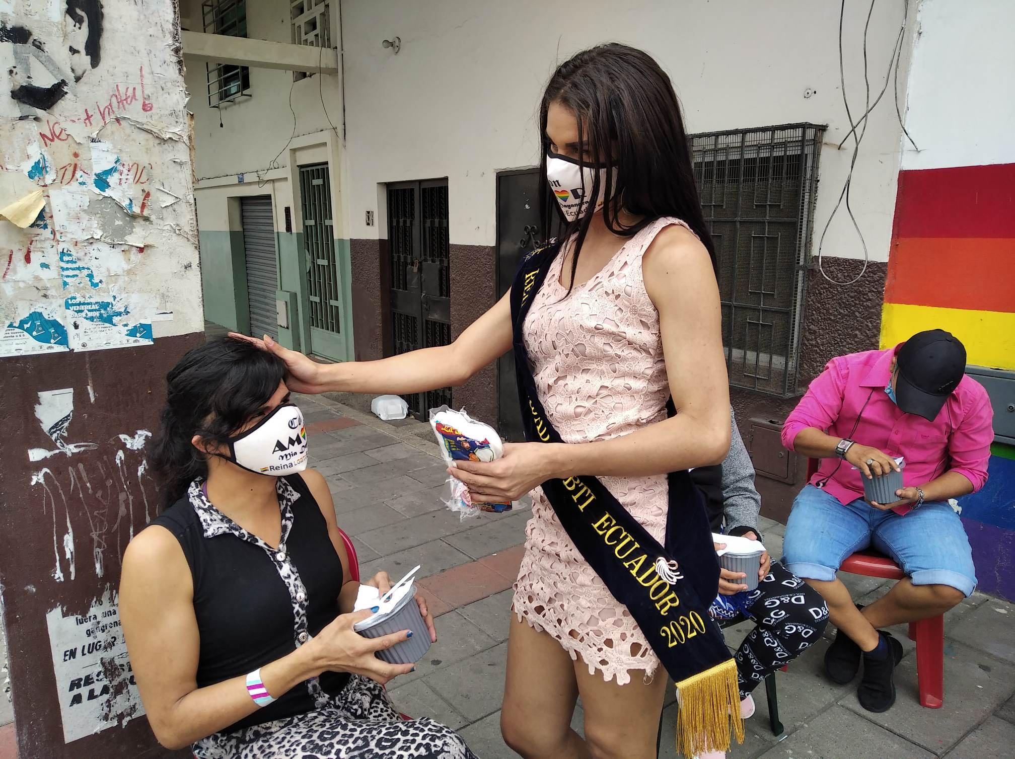 Inauguración del Primer Comedor Comunitario Trans en Guayaquil - Ecuador iniciativa de la Asociación Silueta X (6)