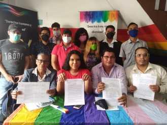 Rueda de Prensa - ACCIÓN DE PROTECCIÓN CONTRA EL CONSEJO PARA LA IGUALDAD DE GÉNERO PARA LA CONFORMACIÓN DEL CONSEJO CONSULTIVO LGBTI - Asociación Silueta X - Campaña Tiempo de Igualdad (2)