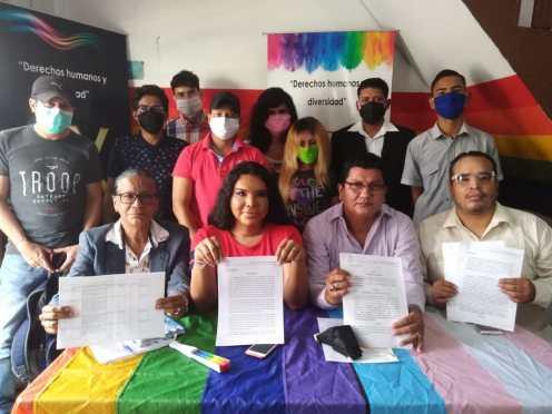 Rueda de Prensa - ACCIÓN DE PROTECCIÓN CONTRA EL CONSEJO PARA LA IGUALDAD DE GÉNERO PARA LA CONFORMACIÓN DEL CONSEJO CONSULTIVO LGBTI - Asociación Silueta X - Campaña Tiempo de Igualdad (11)