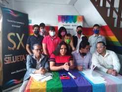 Rueda de Prensa - ACCIÓN DE PROTECCIÓN CONTRA EL CONSEJO PARA LA IGUALDAD DE GÉNERO PARA LA CONFORMACIÓN DEL CONSEJO CONSULTIVO LGBTI - Asociación Silueta X - Campaña Tiempo de Igualdad (8)